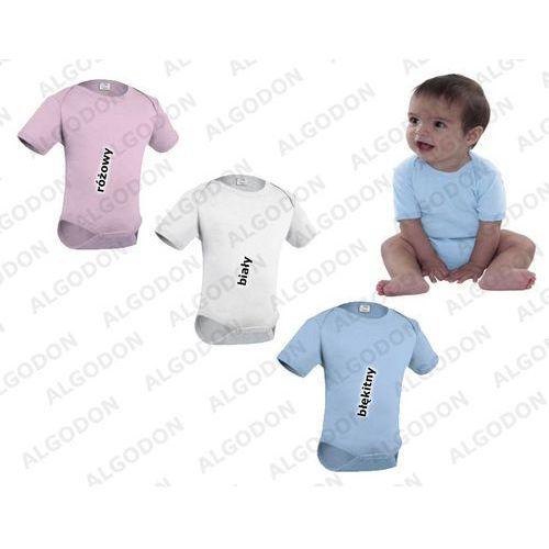 Dziecięce body różne kolory VALENTO Teddy bialy 12-18, kolor różowy