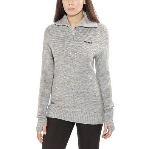 Bergans Ulriken warstwa środkowa Kobiety szary XL 2019 Bluzy