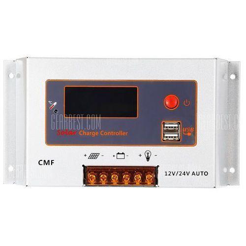 UEIUA CMF - 2420 20A 12 / 24V Auto Switch Solar Controller ()