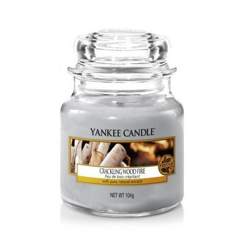 YANKEE CANDLE ŚWIECA 104G CRACKLING WOOD FIRE, 5038581016719