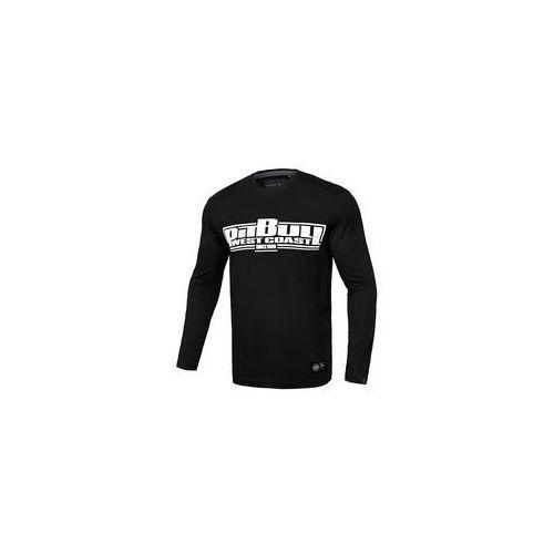 Koszulka z długim rękawem pit bull classic boxing'19 - czarna (239002.9000) marki Pit bull west coast