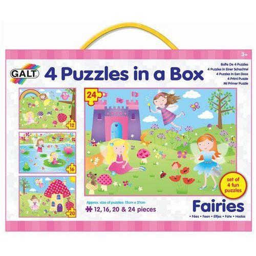 puzzle wróżki, 4w1 marki Galt
