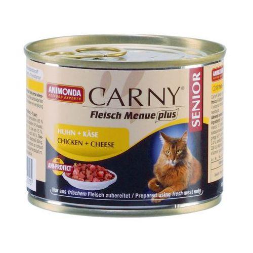 Animonda  carny senior smak: wołowina, kurczak z serem 24x200g (4017721835015)