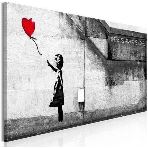 Artgeist Obraz - zawsze jest nadzieja (1-częściowy) wąski czerwony