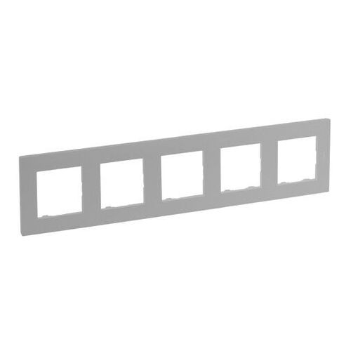 Legrand Ramka pięciokrotna niloe step aluminium