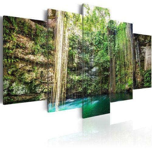 Obraz - wodospad drzew marki Artgeist