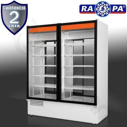 Szafa chłodnicza dwustronnie przeszklona RAPA SCh-2SR 1400, SCh-2SR 1400
