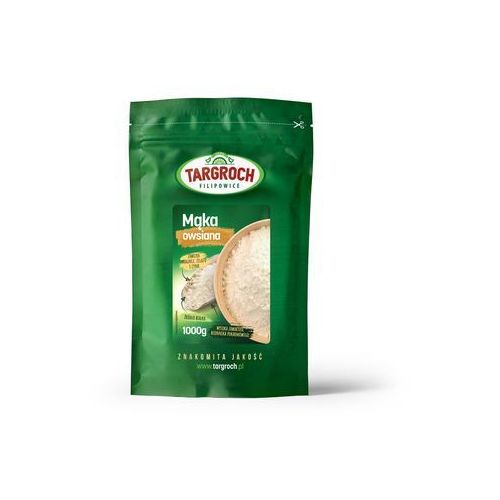 Mąka owsiana 1 kg - Targroch