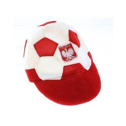 Go Czapka kibica piłka biało - czerwoni - s - 1 szt.