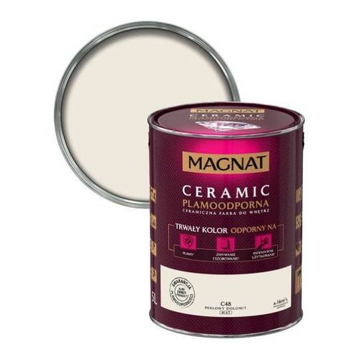 Farba Ceramiczna Magnat Ceramic C48 Perłowy Dolomit 5l