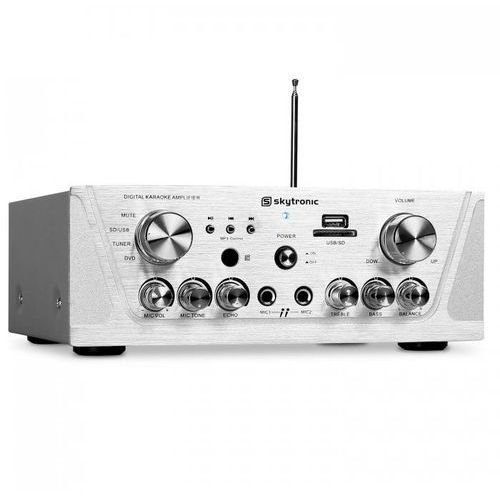 amplituner hifi mp3 usb sd karaoke wzmacniacz marki Skytronic