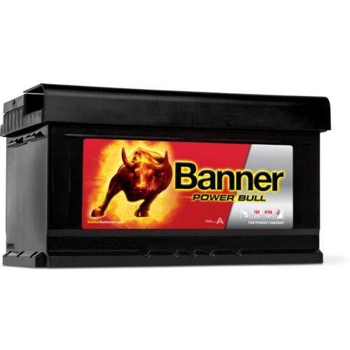 Akumulator power bull 12v 80ah 700a p+ (wymiary: 315 x 175 x 175) (p80 14) marki Banner
