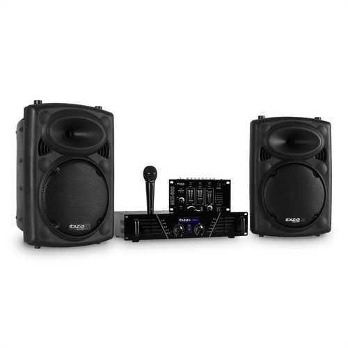 dj300mk2 disco-sound-set aux mic marki Ibiza