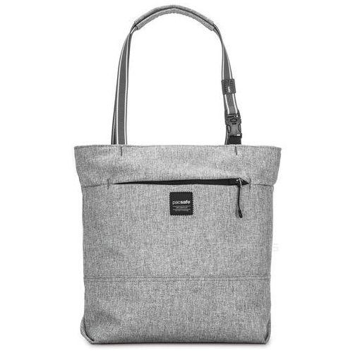 Pacsafe Slingsafe LX200 torba antykradzieżowa na ramię / szara - Tweed Grey, kolor szary