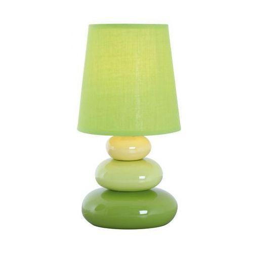 Lampa stołowa kamyki zielona e14 marki Nave