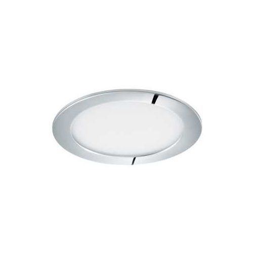 Eglo Plafon fueva 1 96056 lampa oprawa wpuszczana downlight oczko 1x10,9w led biały / chrom okr. (9002759960568)