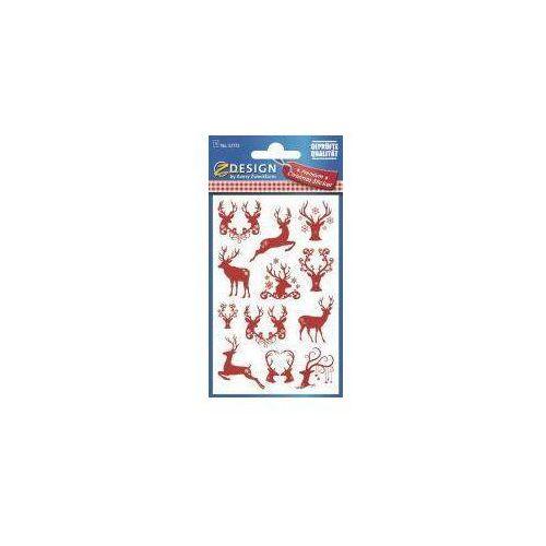 Zdesign Naklejki świąteczne - renifery (4004182527726)