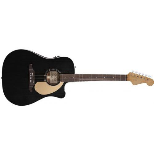 Fender sonoran sce thinline black wn gitara elektroakustyczna