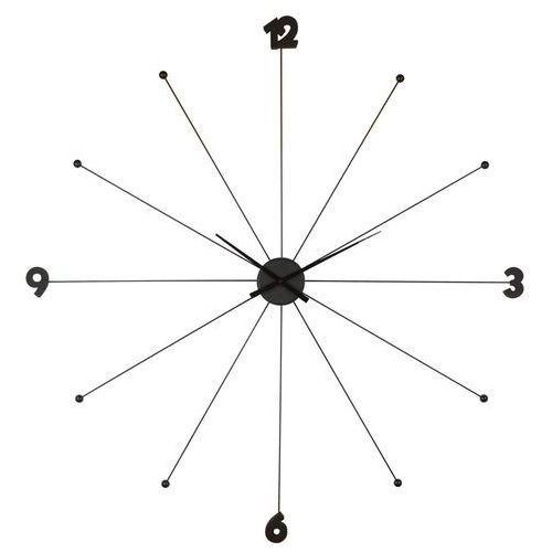 :: zegar like umbrella black - kare design:: zegar like umbrella ||srebrny marki Kare design