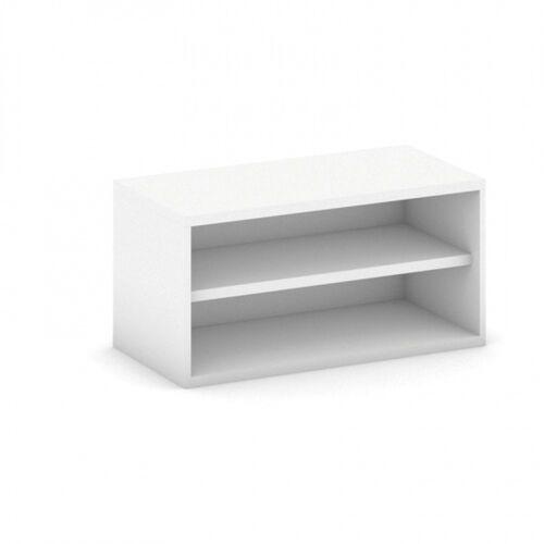 Nadstawka na szafę Mirelli A+, 800 x 400 x 400 mm, biały