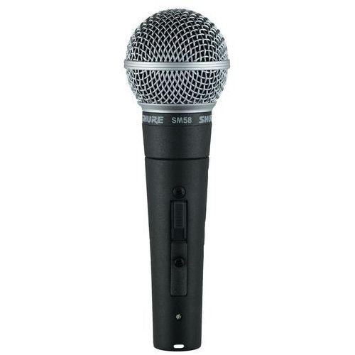 """Shure sm58se - mikrofon dynamiczny -5% na pierwsze zakupy z kodem """"start""""!"""