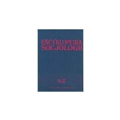 Encyklopedia socjologii t. 4 - Zbigniew Bokszański (8388164619)