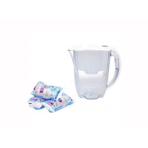 Aquaphor Dzbanek filtrujący ideal + 3 wkłady b100-15 biały + zamów z dostawą jutro! (5901549313048)