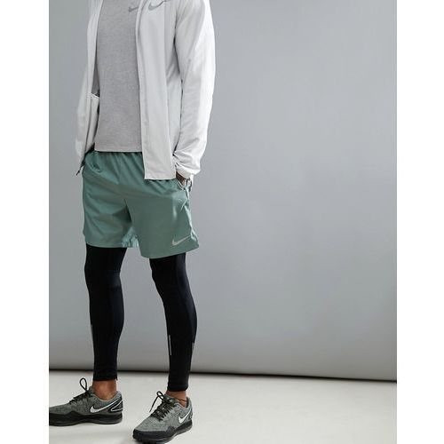 Nike Running Dry Challenger 7 Inch Shorts In Green 908798-365 - Green