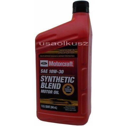 Syntetyczny olej silnikowy 10w30 1l ford marki Motorcraft