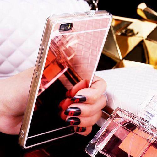 Slim Mirror Case Różowy | Etui dla Huawei P9 Lite - Różowy