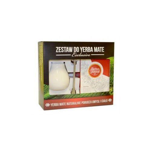 Zestaw yerba mate EXCLUSIVE z Intenso - Energia 250g + Matero Calabaza śnieżna biel + Bombilla Alvaro, kup u jednego z partnerów