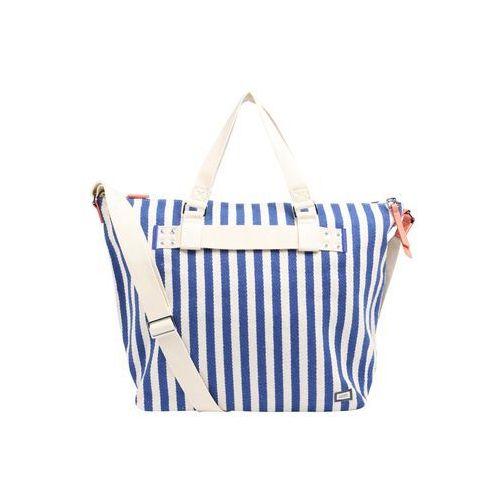 torba shopper niebieski / biały marki Esprit