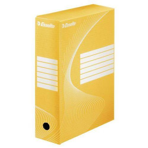 Esselte Pudło archiwizacyjne 100 mm żółte (5901500801096)