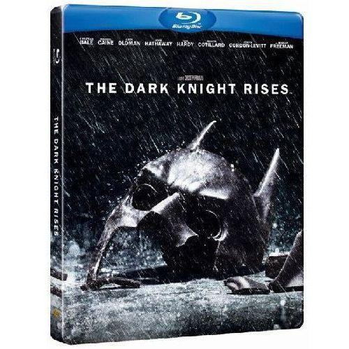 Mroczny Rycerz Powstaje. Edycja specjalna - Steelbook (2Blu-Ray) - Christopher Nolan (7321999323684)