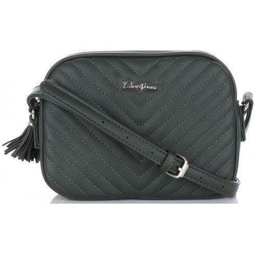 98dfb0db2e44e Małe praktyczne torebki damskie listonos... Producent David Jones; Dla kogo  damska; Kolor zielony