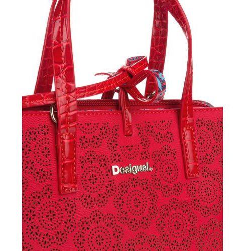 Desigual torebka damska czerwony Hamar Birmania, kolor czerwony