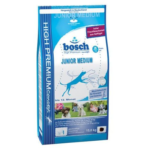 Bosch Junior Maxi (nowa receptura) 15kg + PRZESYŁKA GRATIS!!! (4015598003360)