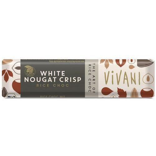 Vivani Baton biały nugatowy (na napoju ryżowym) bio 35 g - (4044889002546)