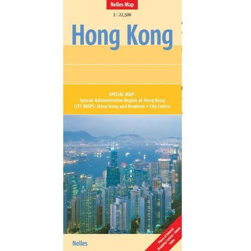 Hongkong. Mapa 1:22 500, oprawa twarda