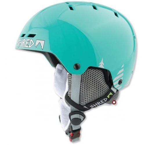 Shred bumper timber mint - kask snowboard rolki rower r. l 58-61 cm