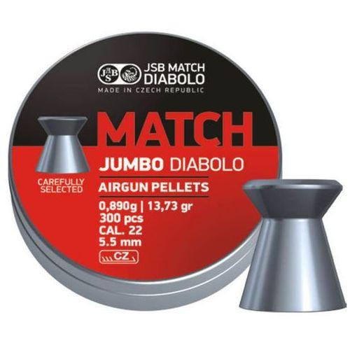 Jsb Śrut  diabolo jumbo match 5.5mm, 300szt (546250-300) (2010000012475)