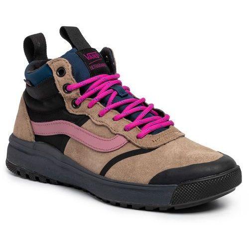 Sneakersy VANS - Ultrarange Hi DI VN0A4BU5XNC1 (Mte) Portabella/Ebony, kolor brązowy