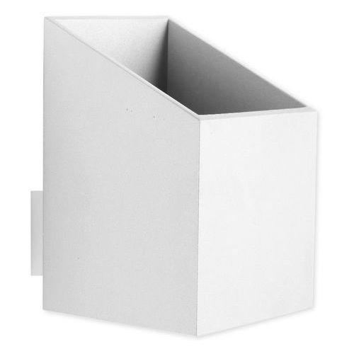 Lampex Kinkiet rubik krótki biały 625/k kr bia - - sprawdź kupon rabatowy w koszyku (5902622114224)