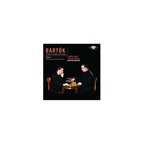 Bartok: Complete Works For Violin: Vol. 1, Early Works And Transcriptions