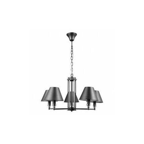 Lampa wisząca Banito 5 x 40 W E14 antracyt/grey/chrom (5900644436010)