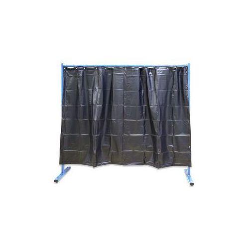 Spawalnicza ścianka ochronna, ruchoma,wersja 1-częściowa, wys. x szer. 1900 x 2100 mm