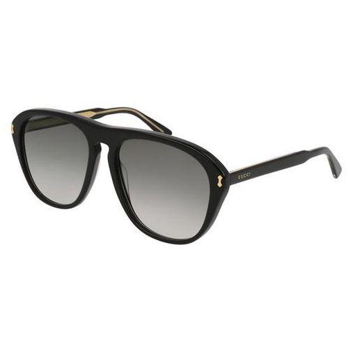 Okulary Słoneczne Gucci GG0128S Polarized 007, kolor żółty