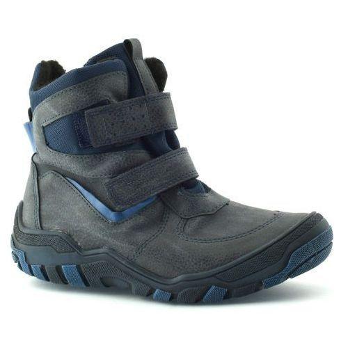 Buty zimowe dla dzieci 06236 - granatowy marki Kornecki