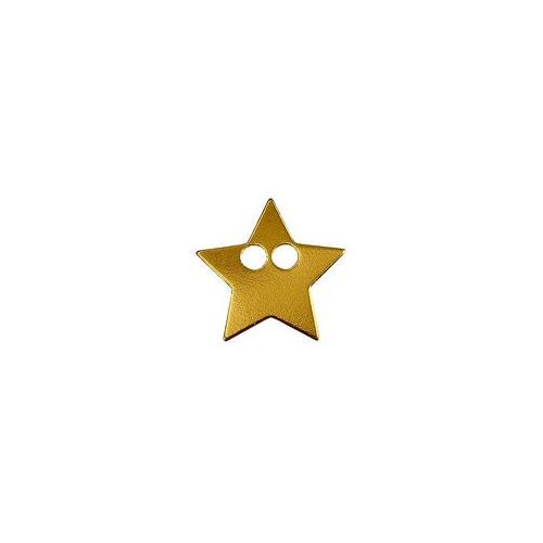 925.pl Blaszka gwiazdka do łańcuszka, złoto próba 585