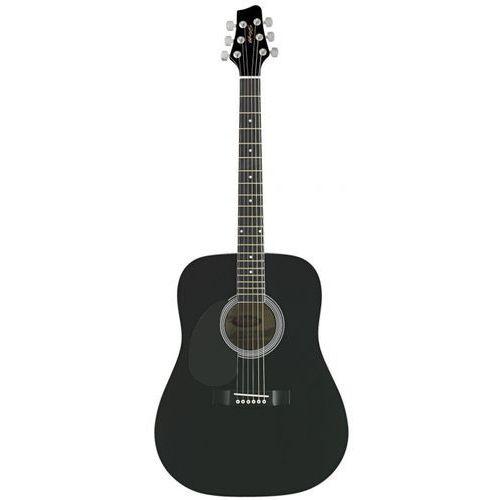 Stagg sw201 lh bk gitara akustyczna, leworęczna